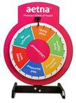 Custom 24 Inch Prize Wheel with custom sign