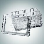 Custom Majestic Crystal Box (Rectangle)   Hand Cut