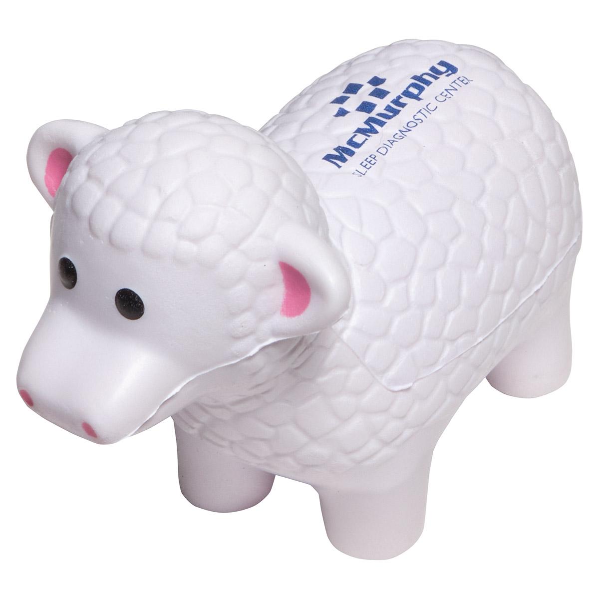 Sheep Stress Reliever, LAF-SH14, 1 Colour Imprint