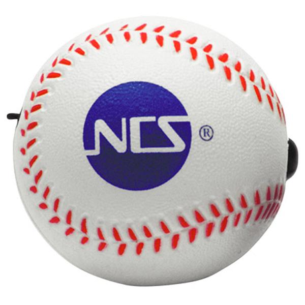 Baseball Yo-Yo Bungee Stress Reliever, LYY-BA01 - 1 Colour Imprint