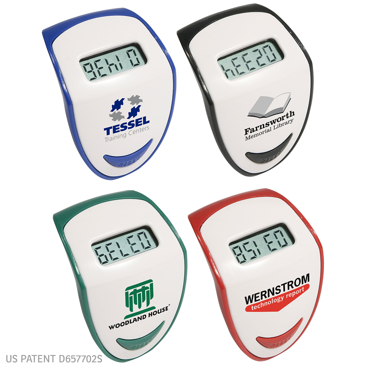 Step Hero Pedometer, WHF-SH10, 1 Colour Imprint