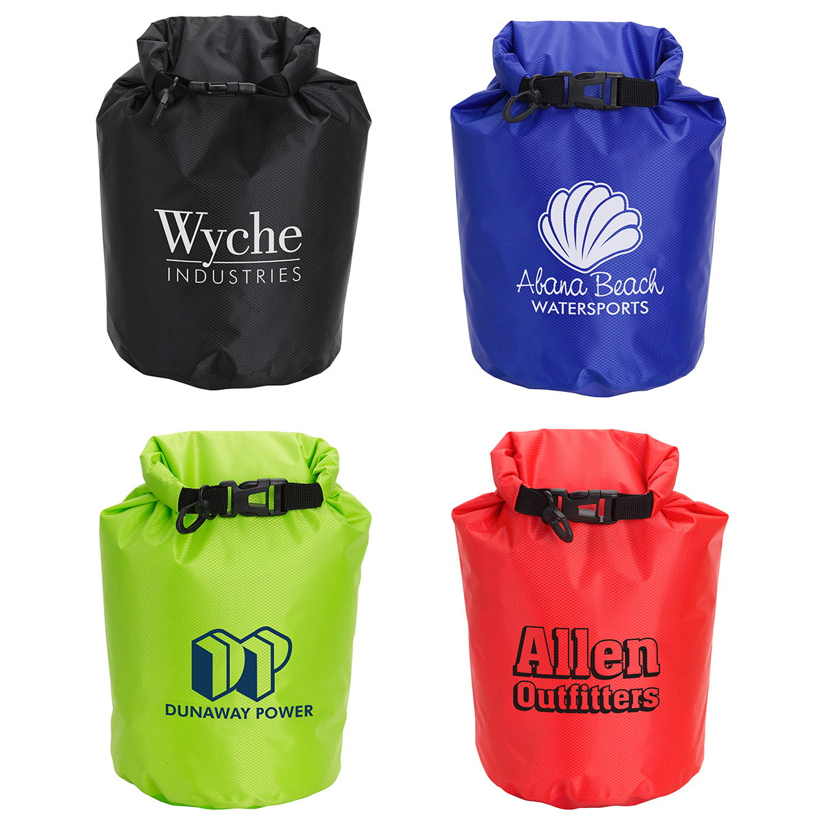 5 Liter Waterproof Gear Bag, WBA-WG17, 1 Colour Imprint