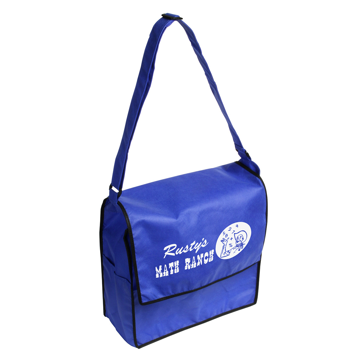 Zephyr Messenger Bag, WBA-ZM09, 1 Colour Imprint