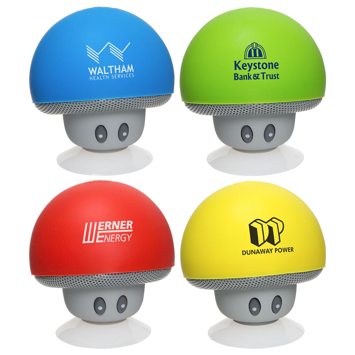 Upbeat Mini Mushroom Wireless Speaker, ESP-MR17 - 1 Colour Imprint