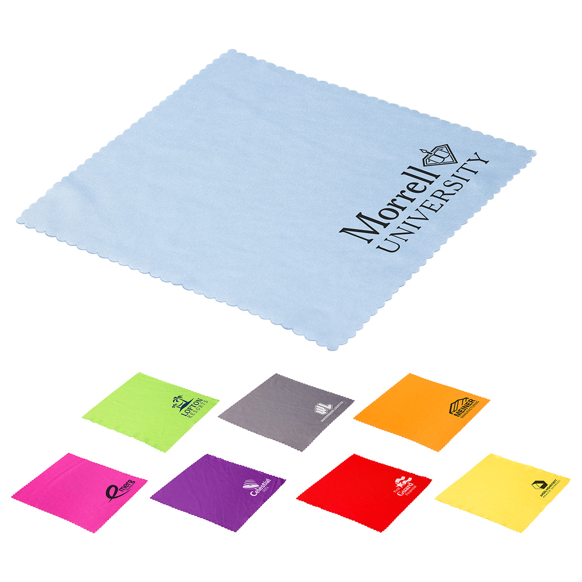 Value Plus Microfiber Cloth, WPC-VM17, 1 Colour Imprint