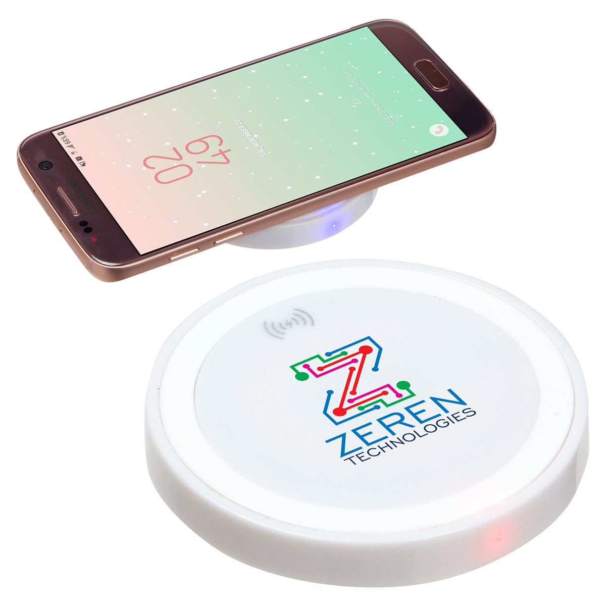 Power Disc 5W Wireless Charger, ECP-PD19, 1 Colour Imprint