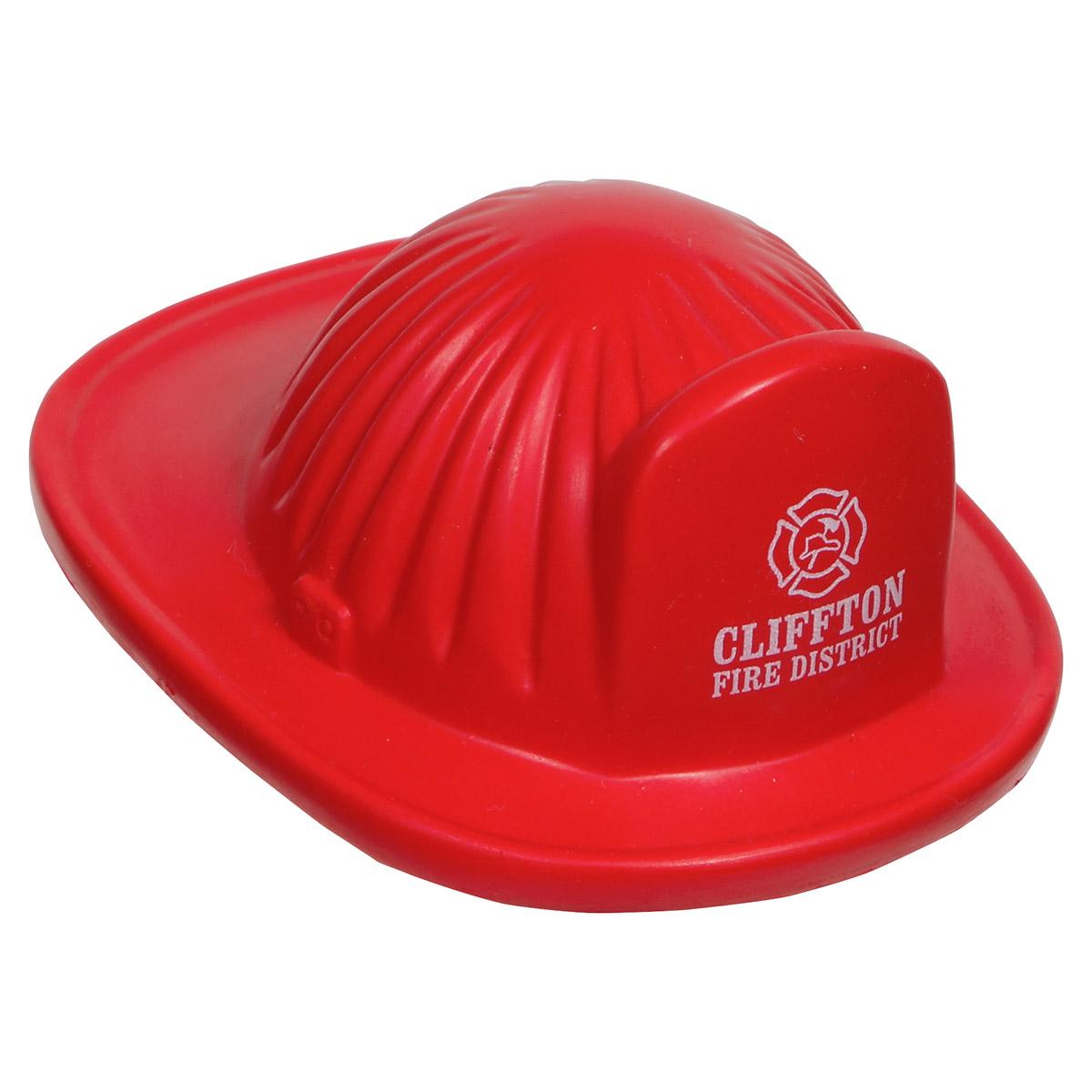 Fire Helmet Stress Reliever, LCC-FH16 - 1 Colour Imprint
