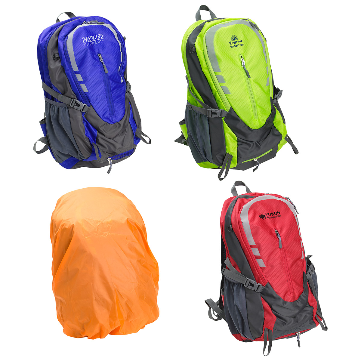 Alpine Hiking Backpack 35L with Rain Cover, WBA-AB17 - 1 Colour Imprint