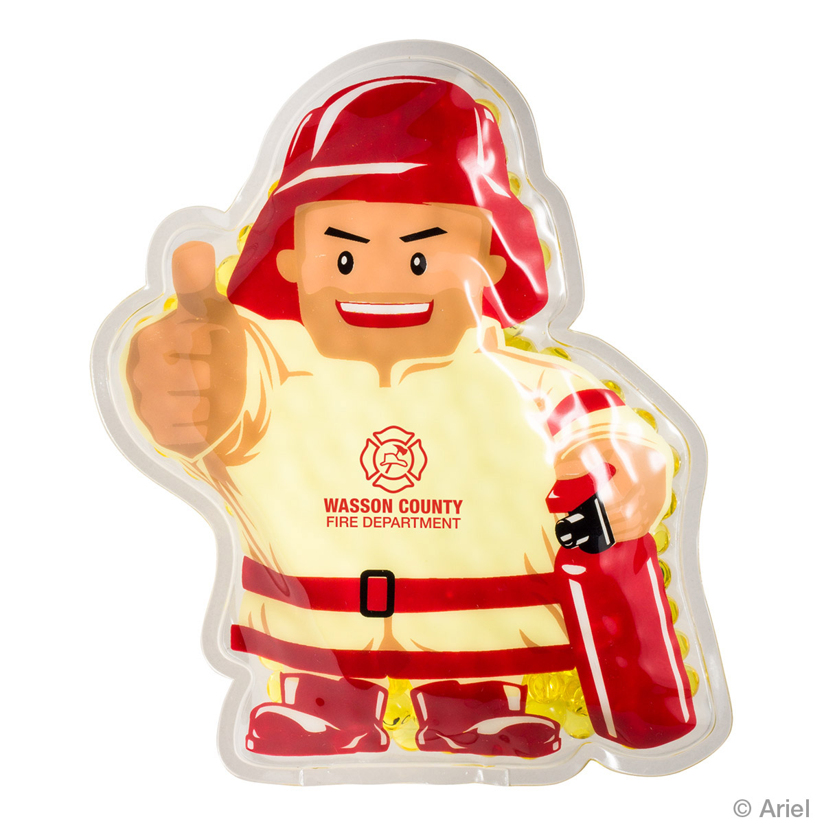 Firefighter Hot/Cold Pack, WHF-FF17, 1 Colour Imprint