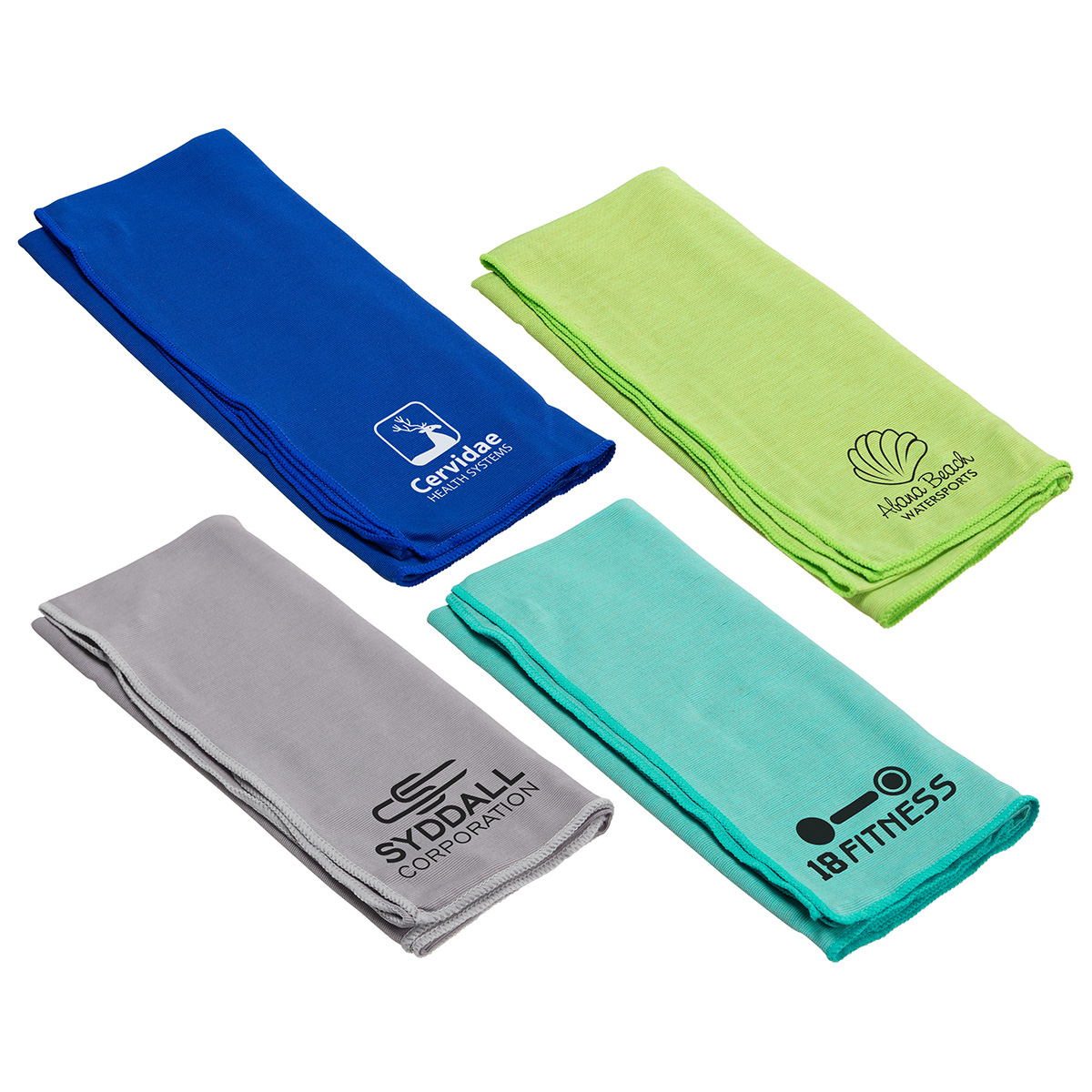 Eclipse Copper-Infused Cooling Towel, WPC-EC18, 1 Colour Imprint