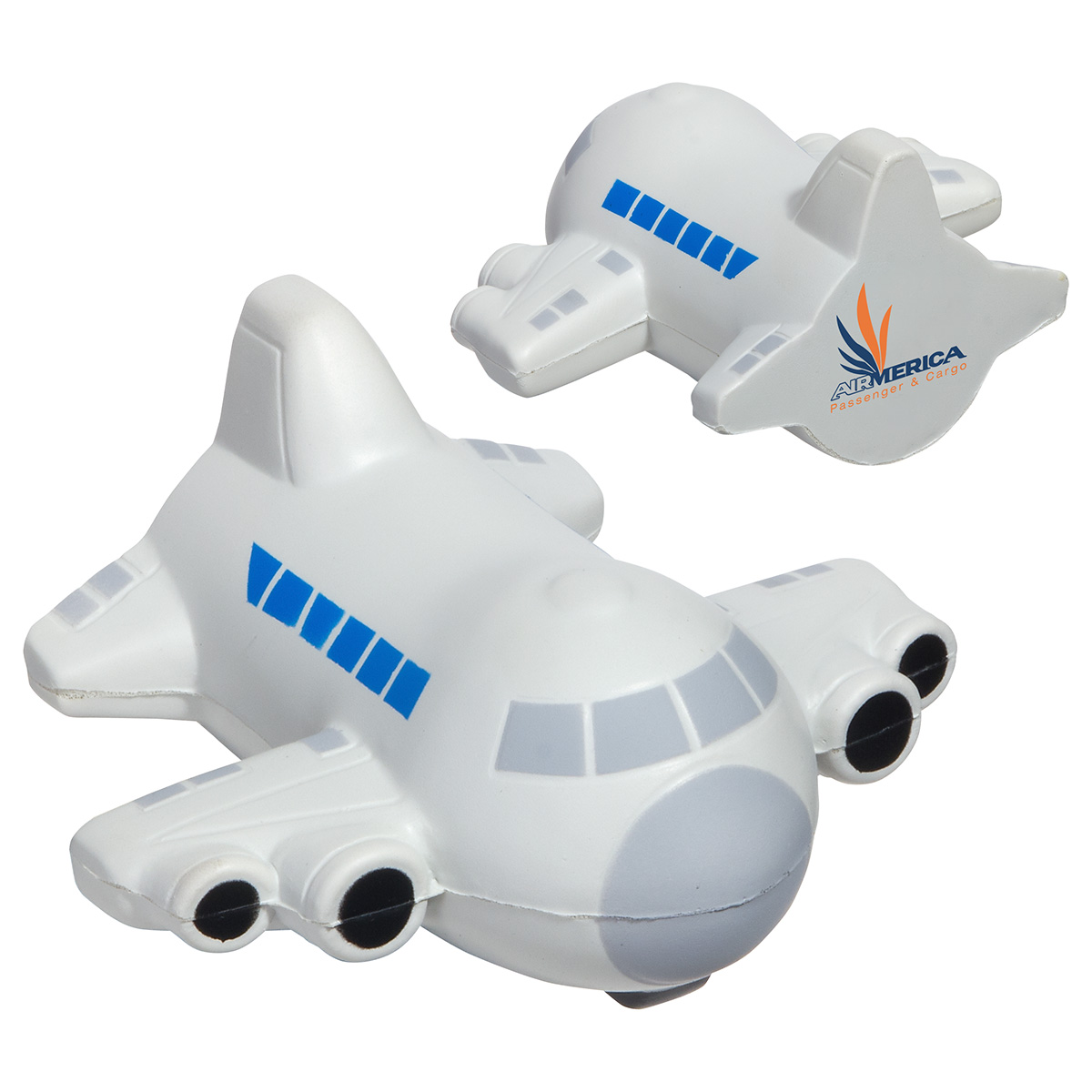 Small Airplane Stress Reliever, LAR-SA03, 1 Colour Imprint