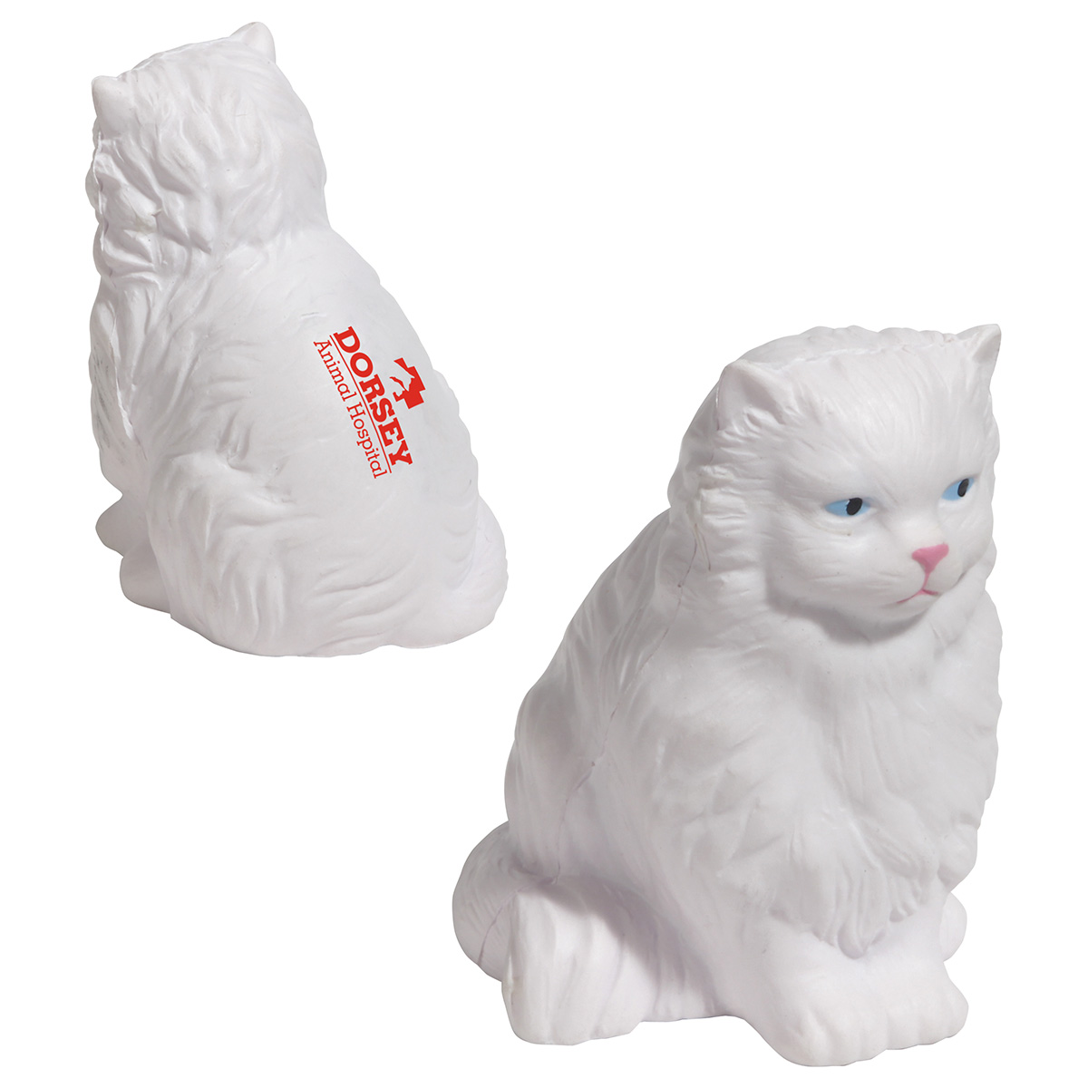 Persian Cat Stress Reliever, LPE-PC34, 1 Colour Imprint