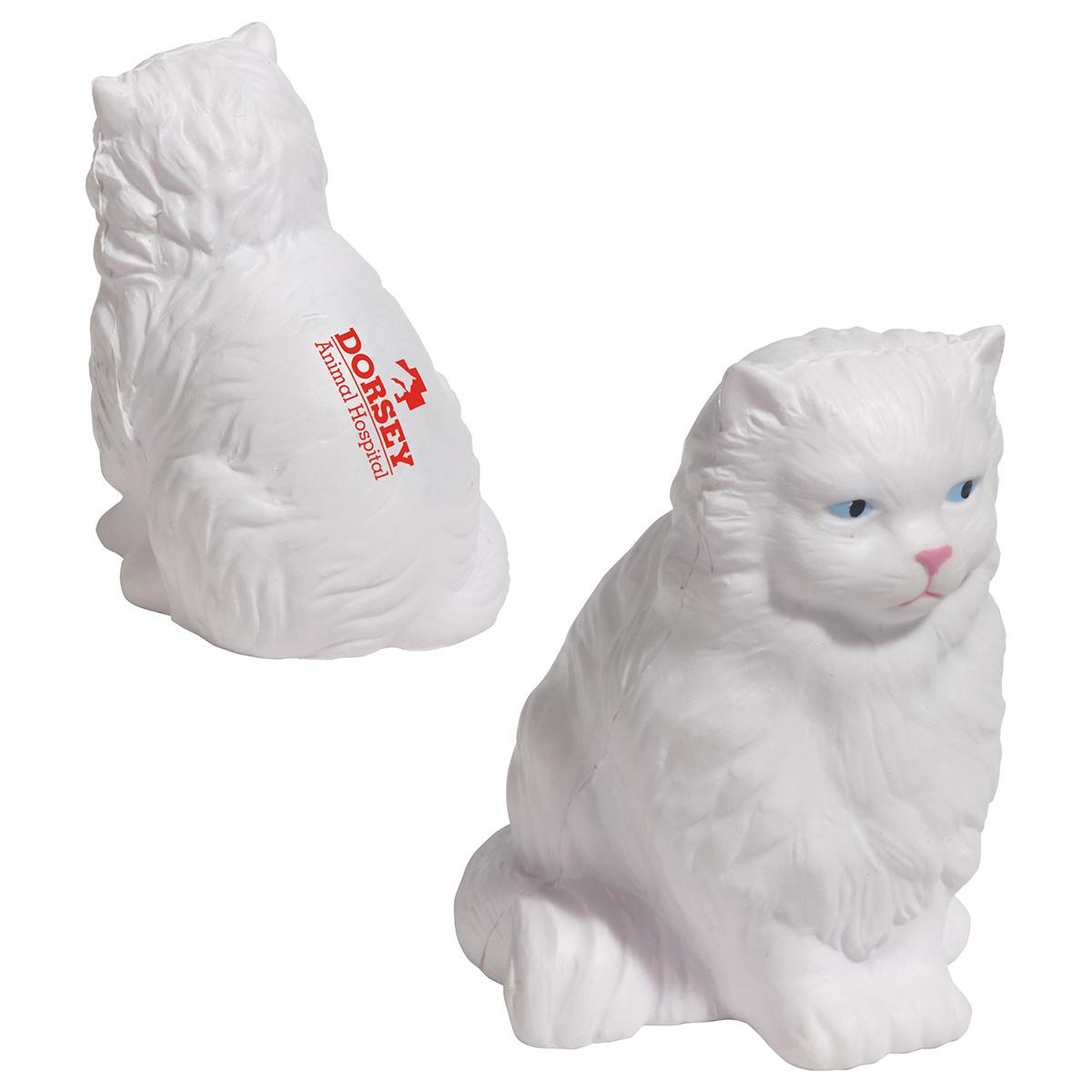 Persian Cat Stress Reliever, LPE-PC34 - 1 Colour Imprint