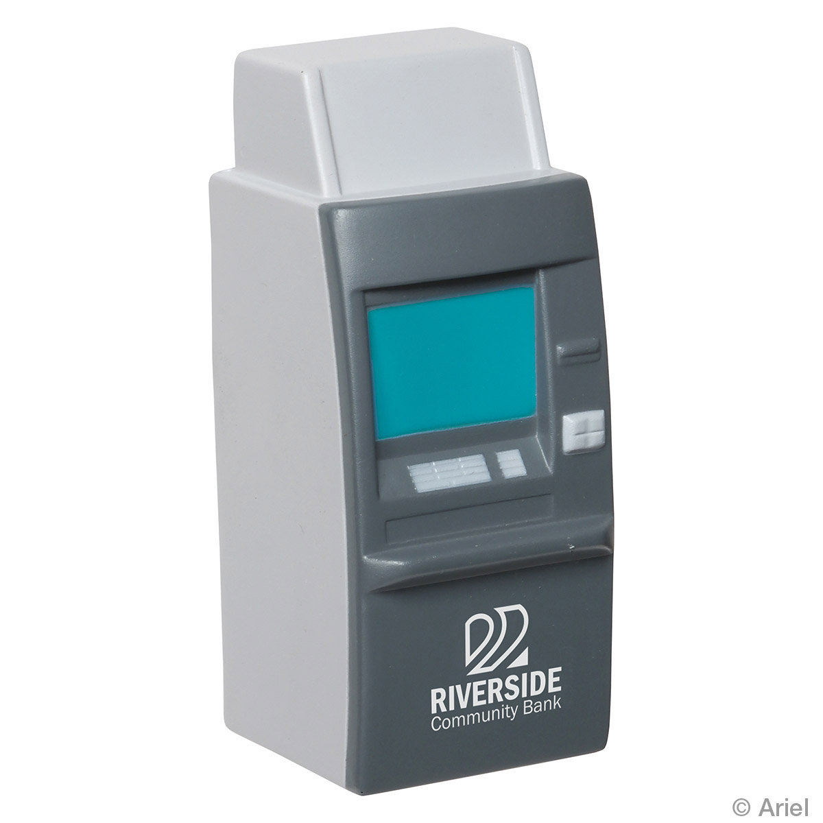 ATM Machine Shaped Stress Reliever, LFN-AT08 - 1 Colour Imprint