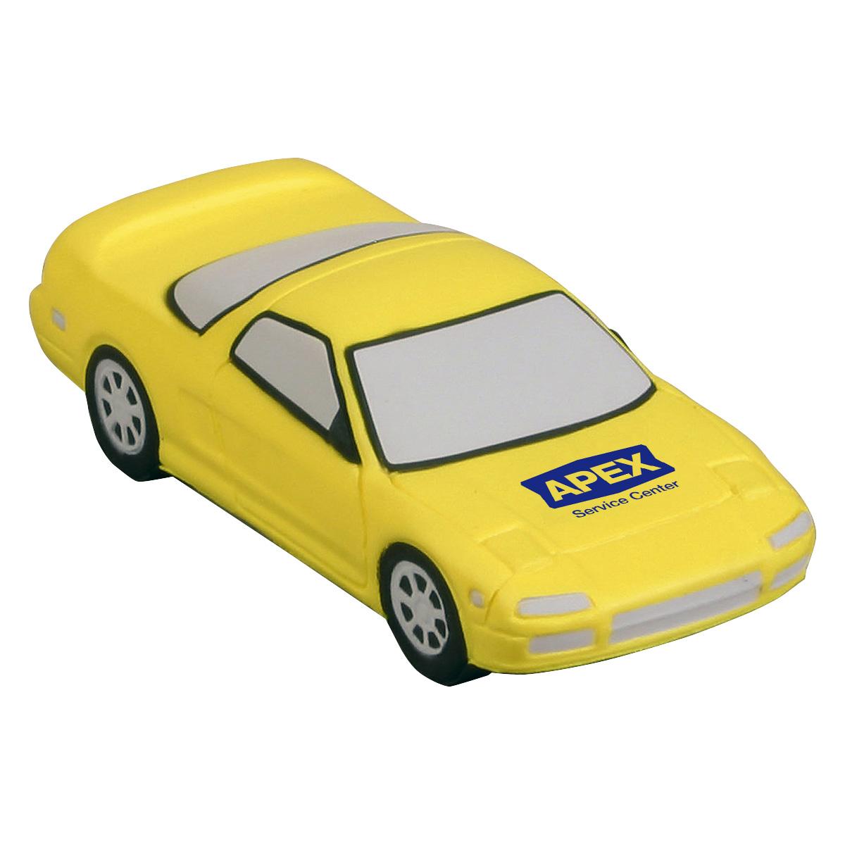 Sports Car Stress Reliever, LTR-SC14, 1 Colour Imprint