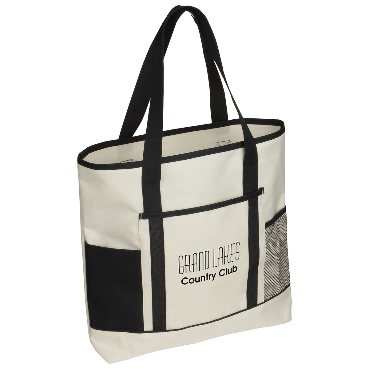 Excursion Market Tote Bag, WBA-EM13 - 1 Colour Imprint