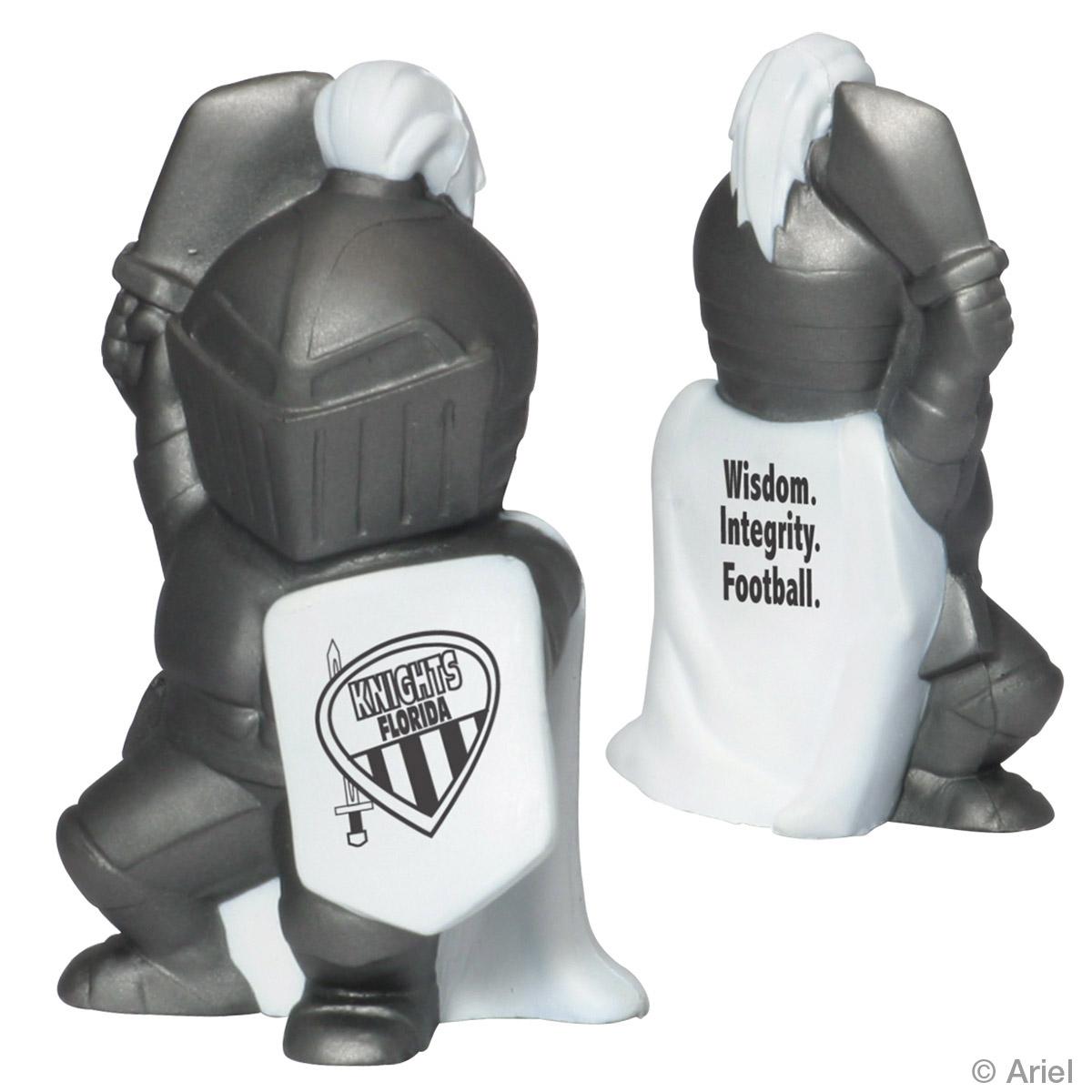 Knight Mascot Stress Reliever, LMT-KN06, 1 Colour Imprint