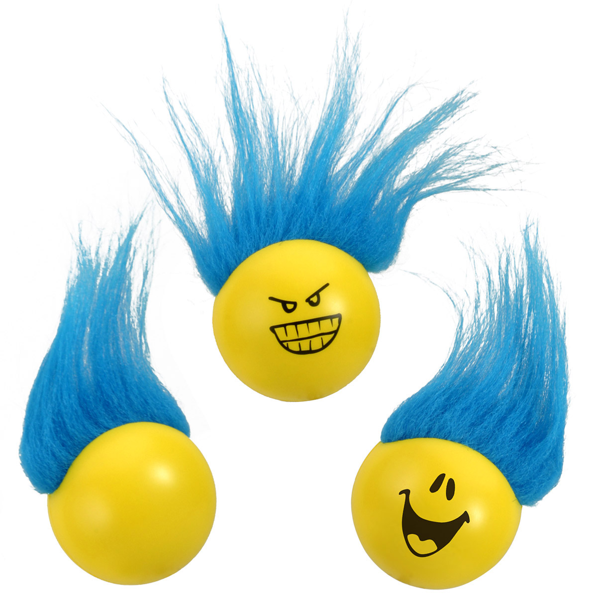 Troll Stress Reliever Ball, LSB-TB06 - 1 Colour Imprint