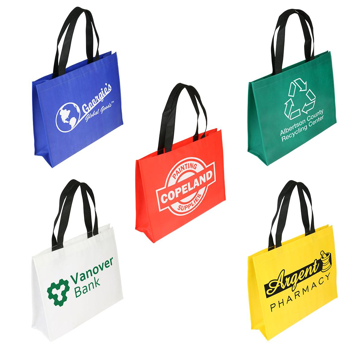 Raindance XL Water Resistant Coated Tote Bag, WBA-RX09, 1 Colour Imprint