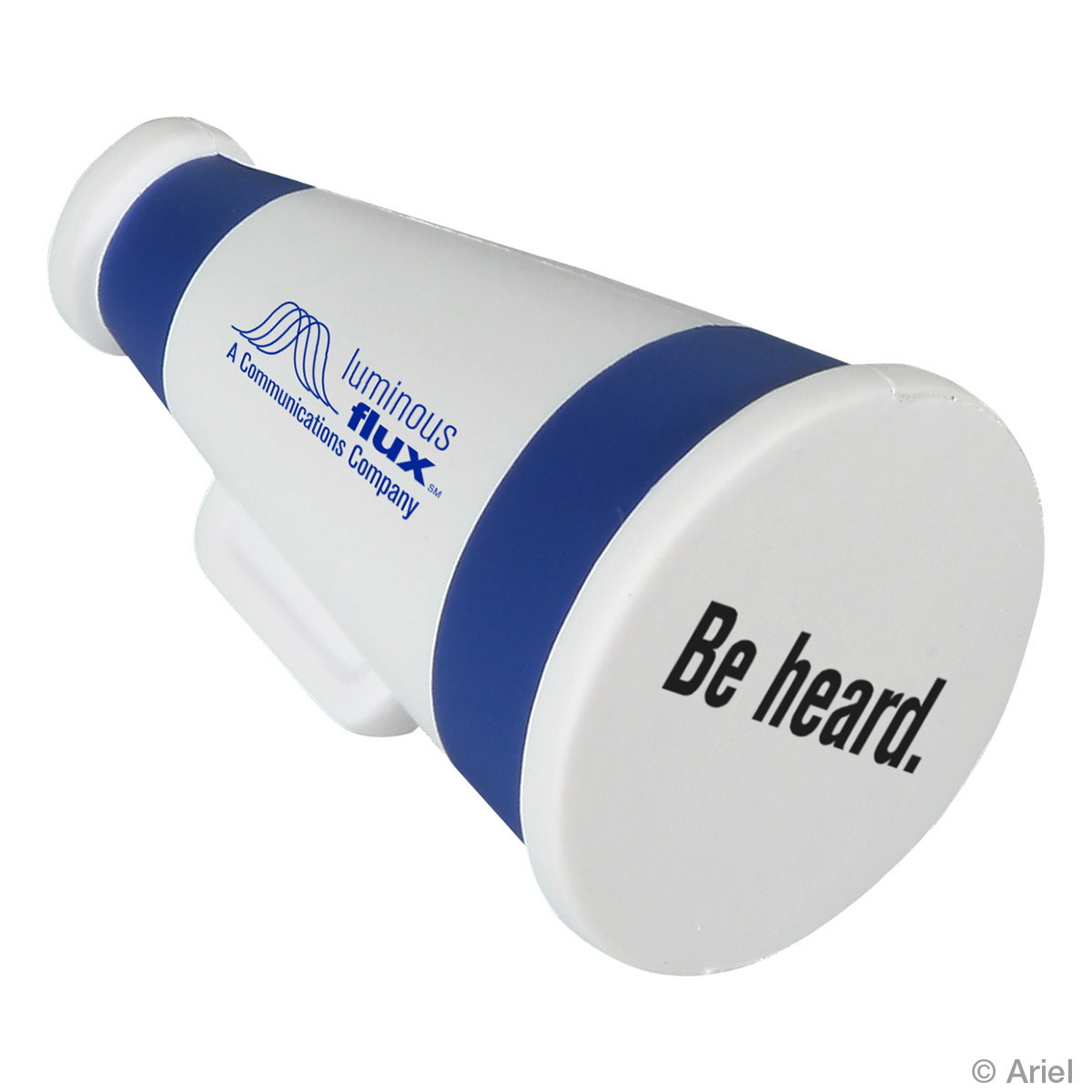 Megaphone Stress Reliever, LGS-MP11 - 1 Colour Imprint