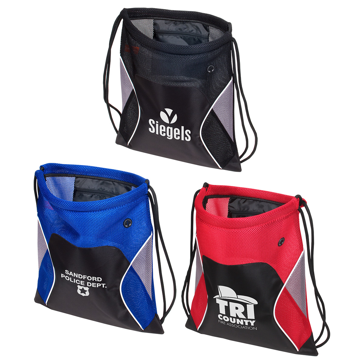 Jumbo Globetrotter Drawstring Bag, WBA-JG15 - 1 Colour Imprint