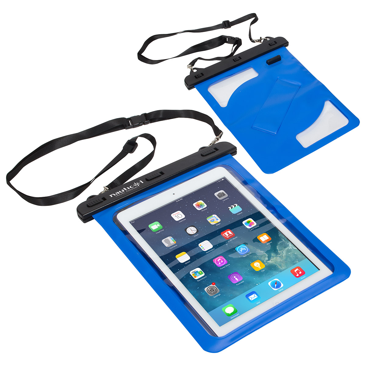 Waterproof Tablet Carrier with 3.5mm Audio Jack, WOR-TC16, 1 Colour Imprint