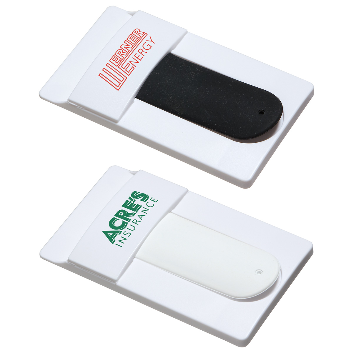 Snap it Mobile Wallet with Phone Stand, WCP-SW16, 1 Colour Imprint