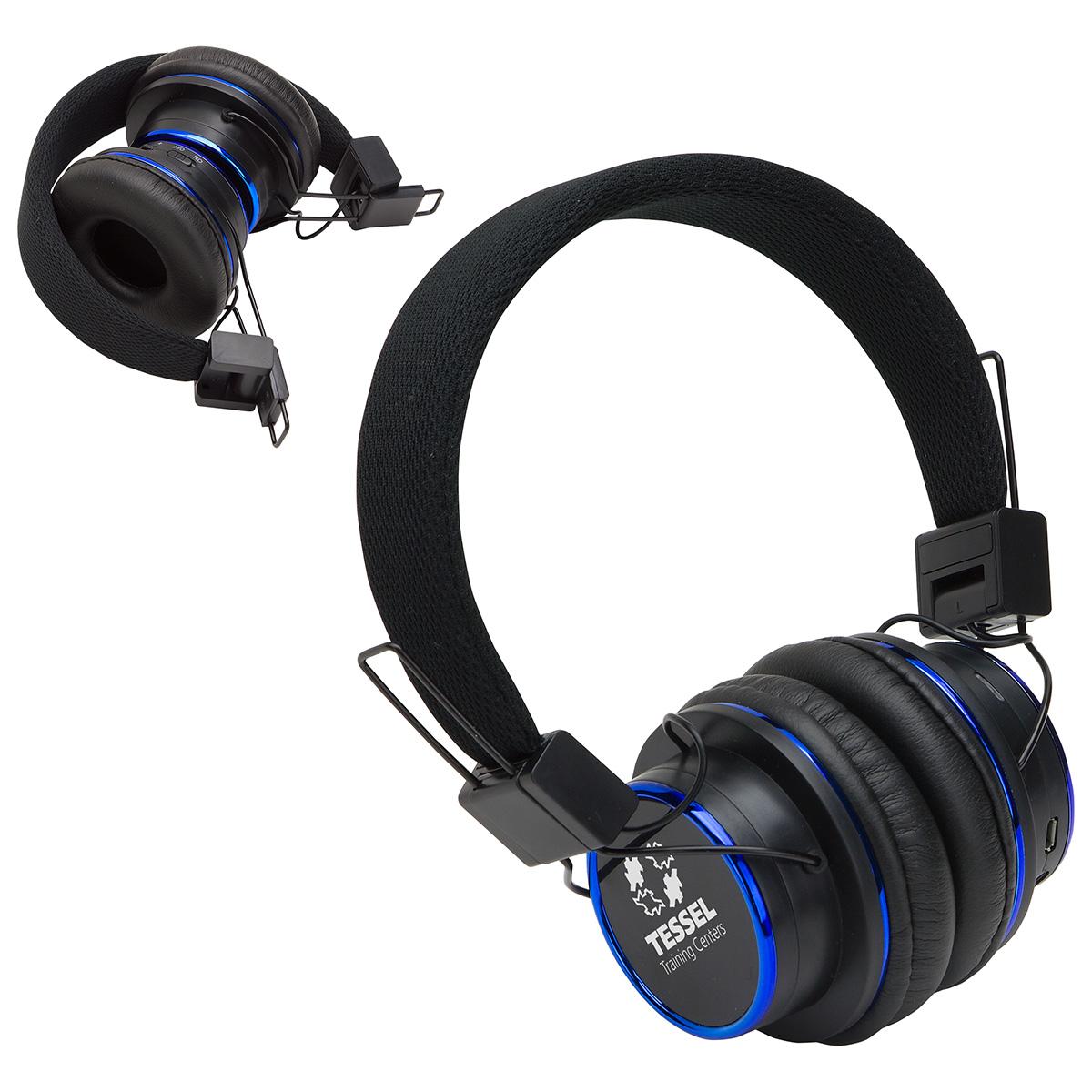 Top Sound Noise Cancellation Wireless Folding Headphones, ETV-TS17 - 1 Colour Imprint