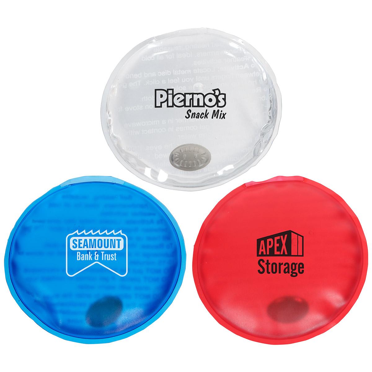 Reusable Magic Hand Warmer Round, WTV-MR16, 1 Colour Imprint