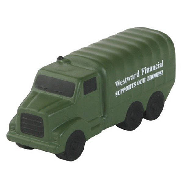 Military Truck Stress Reliever, LML-MT01 - 1 Colour Imprint