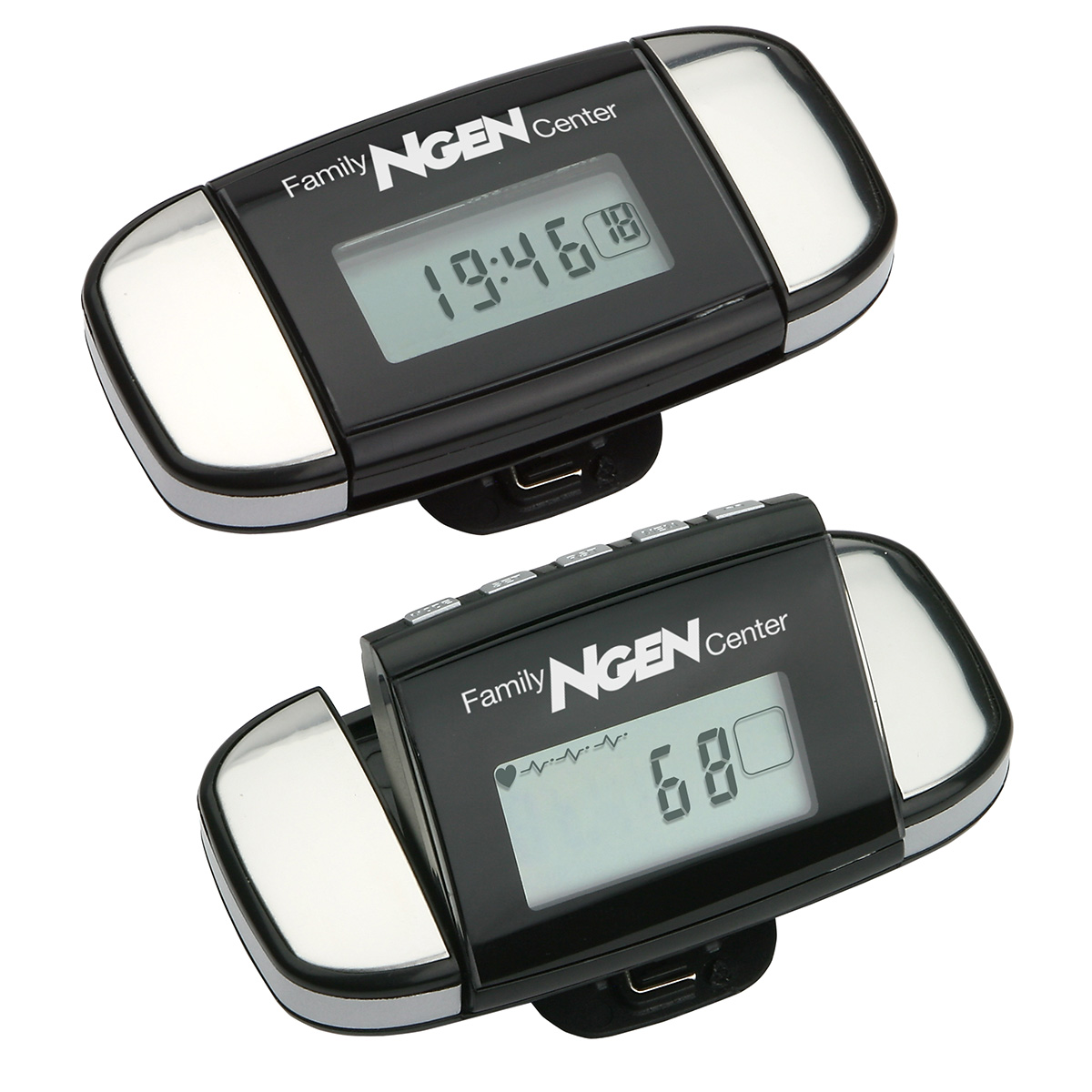 Calibration Pulse Reader Pedometer, WHF-PR11, 1 Colour Imprint