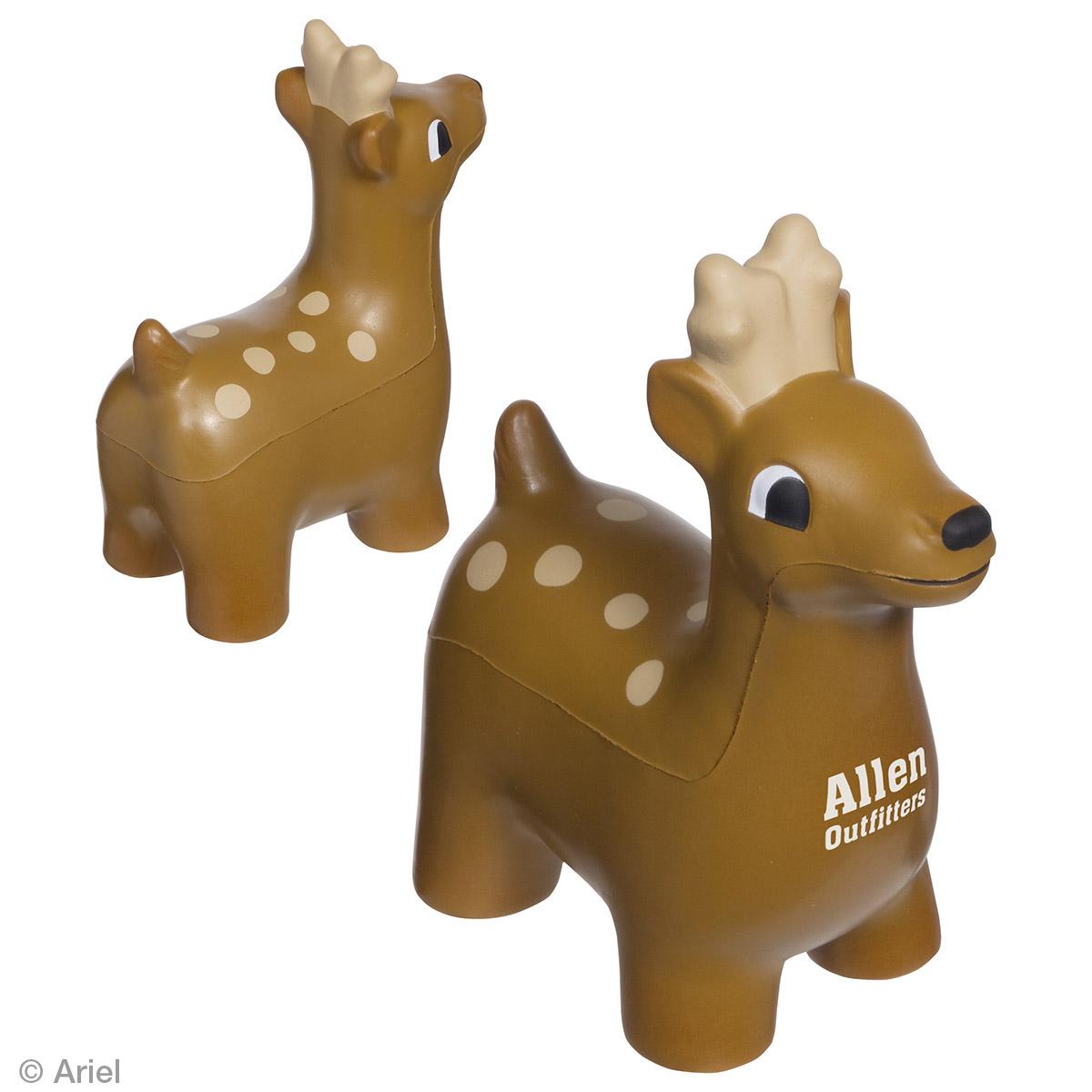 Deer Stress Reliever, LAZ-DE15 - 1 Colour Imprint