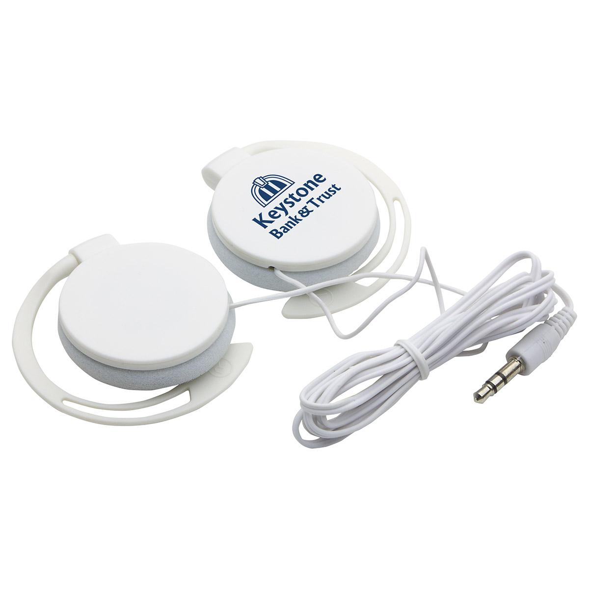 Easy Clip Headphones, WTV-EC15 - 1 Colour Imprint
