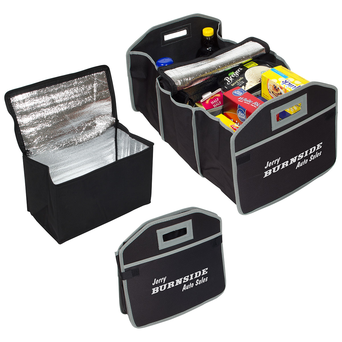 Cargo Organizer with Cooler Bag, WBA-CO15, 1 Colour Imprint