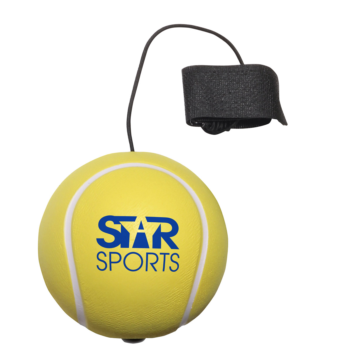 Tennis Ball Stress Reliever Yo-Yo Bungee, LYY-TE07, 1 Colour Imprint
