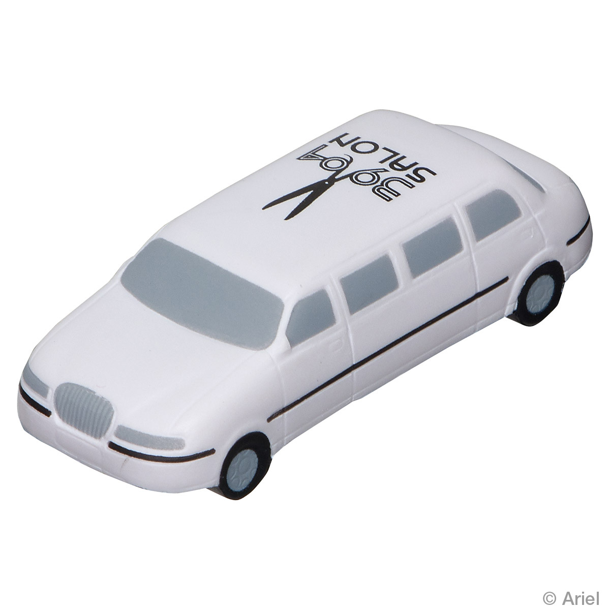Limousine Stress Reliever, LTR-LM51 - 1 Colour Imprint