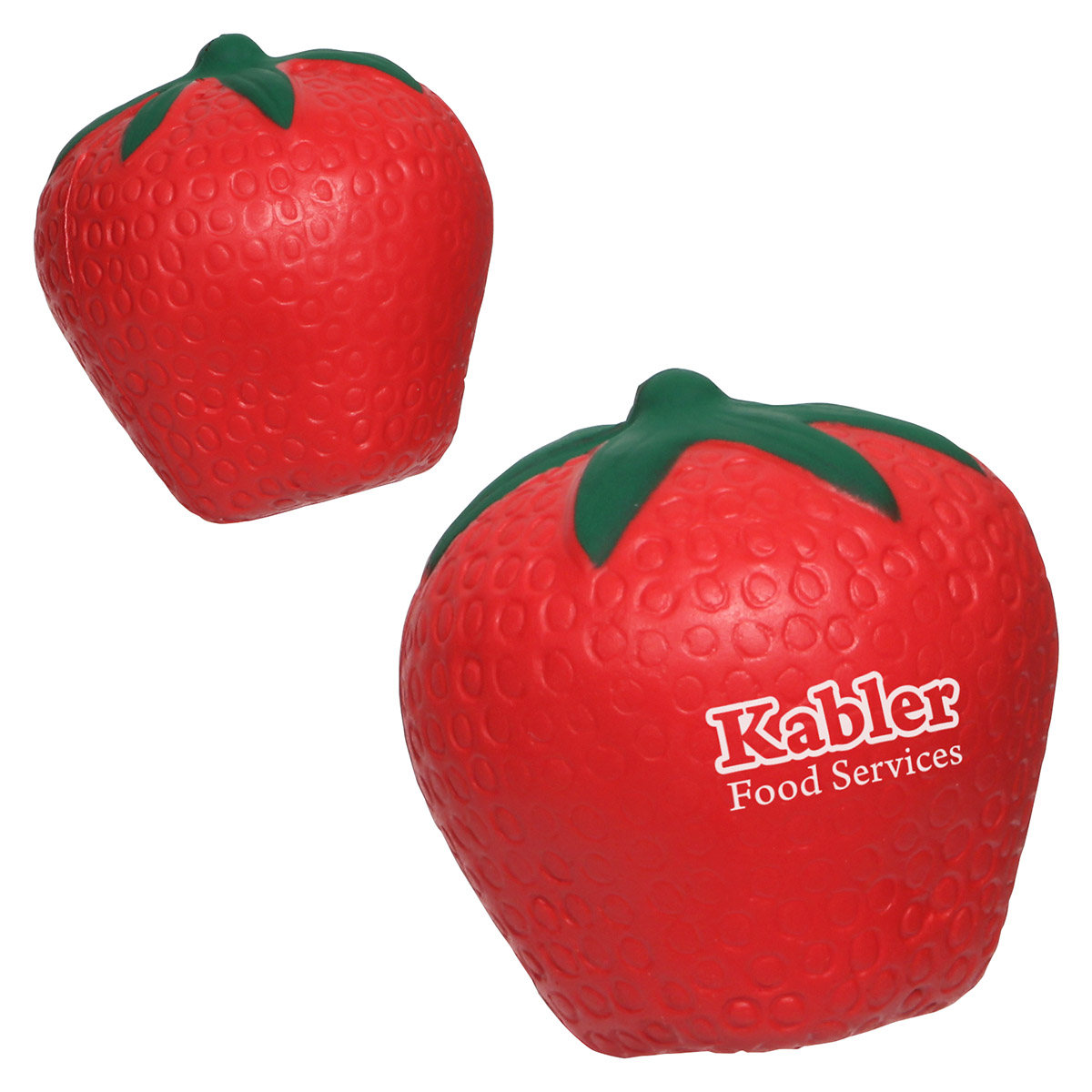 Strawberry Stress Reliever, LFR-SW08, 1 Colour Imprint