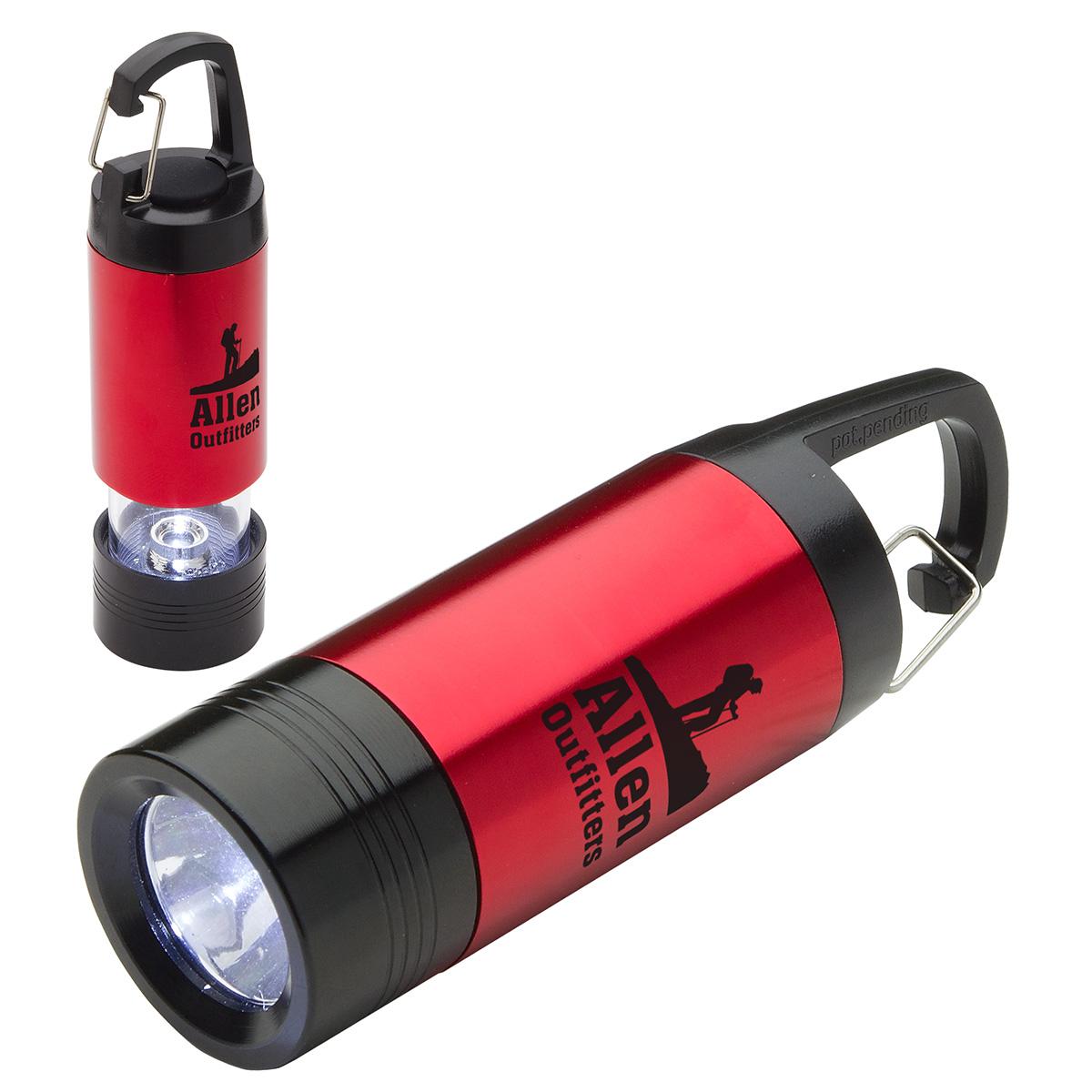 Combo LED Light & Lantern, WLT-LL15 - 1 Colour Imprint