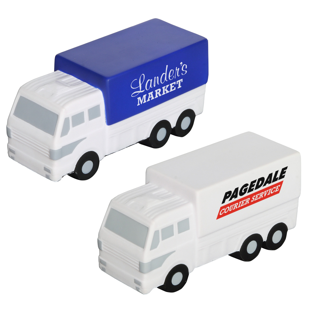 Delivery Truck Stress Reliever, LTR-DT19 - 1 Colour Imprint