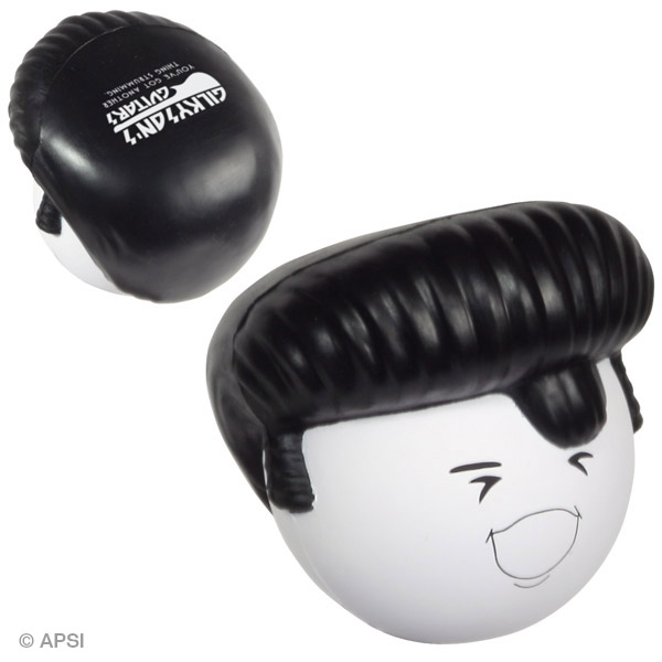 Rock-N-Roll Mad Cap Stress Reliever, LMA-RR08, 1 Colour Imprint