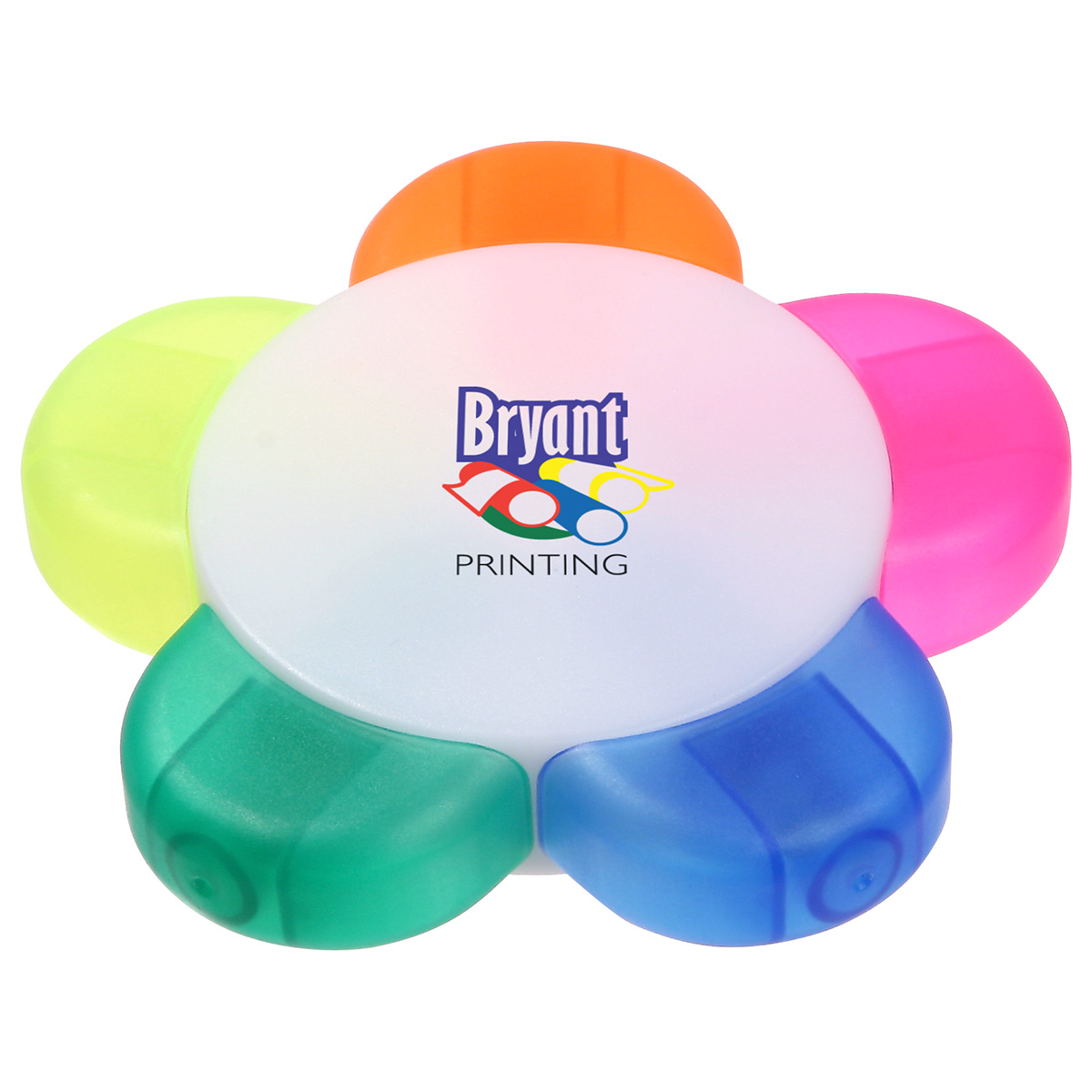 Fab Five Multicolor Highlighter, WOF-FF10, 1 Colour Imprint