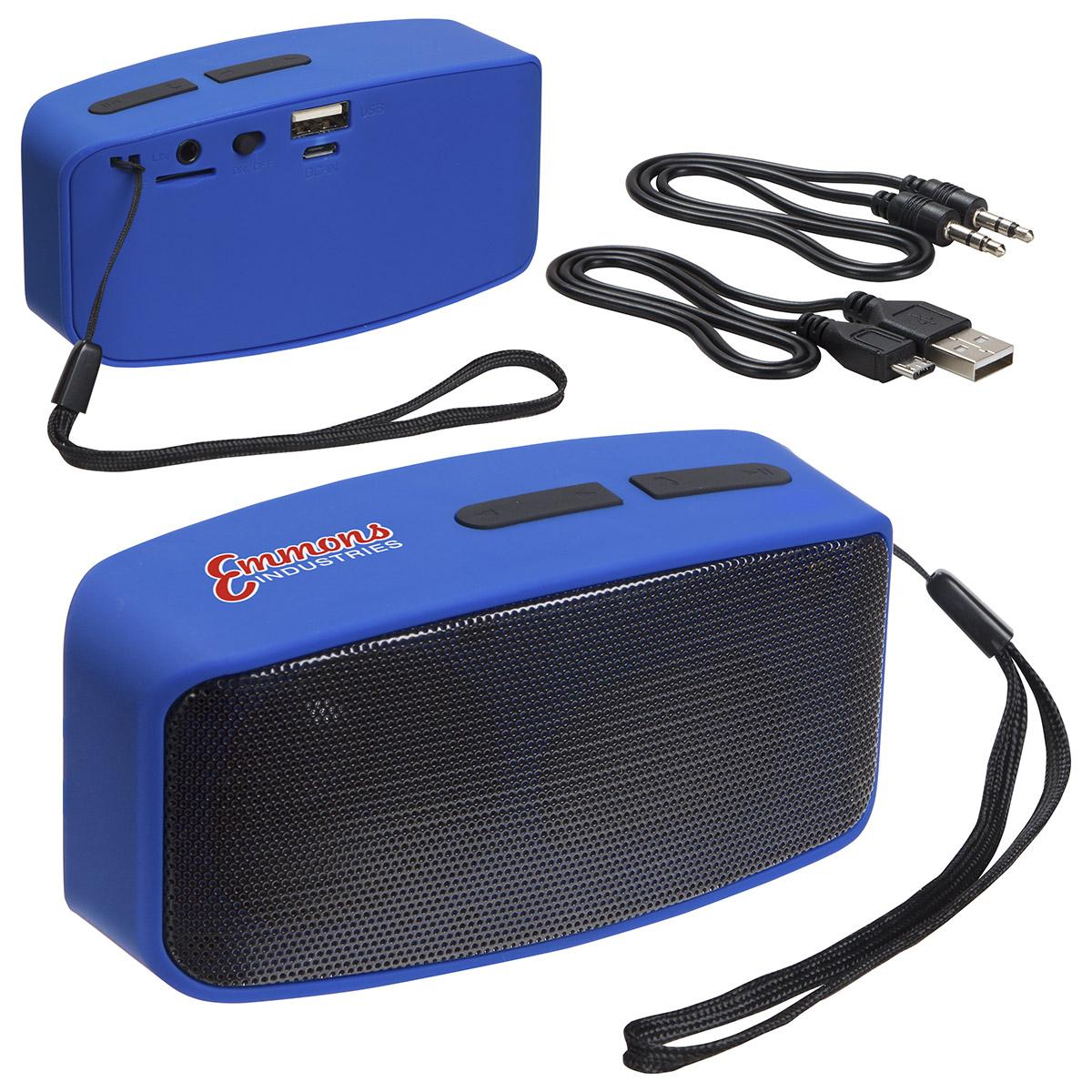 Sonic Sound Wireless Speaker with FM Radio & Mic, ESP-SS16 - Full Colour Imprint