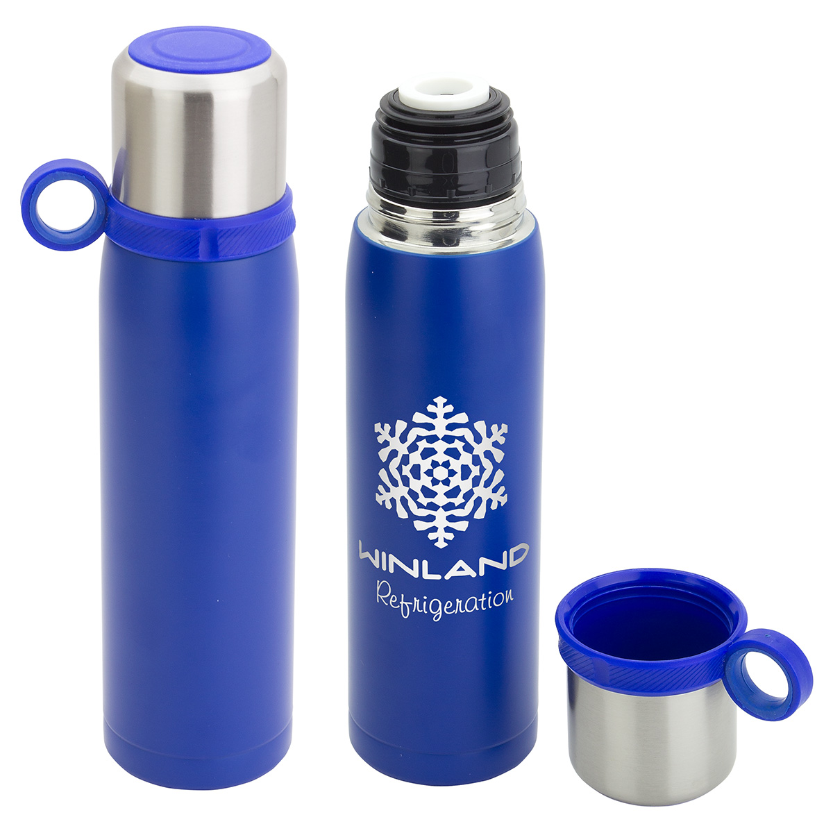 All-Day 20 oz Insulated Bottle with TempSeal Technology, DBT-AD18, 1 Colour Imprint