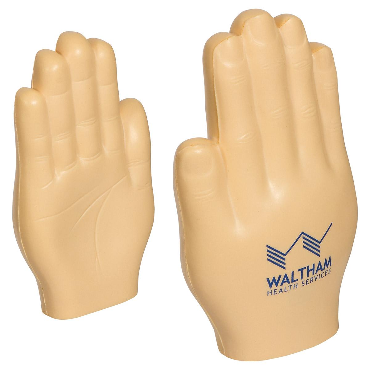 Hand Stress Reliever, LAN-HF24, 1 Colour Imprint
