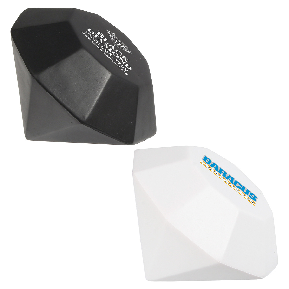 Diamond Stress Reliever, LGS-DM03, 1 Colour Imprint