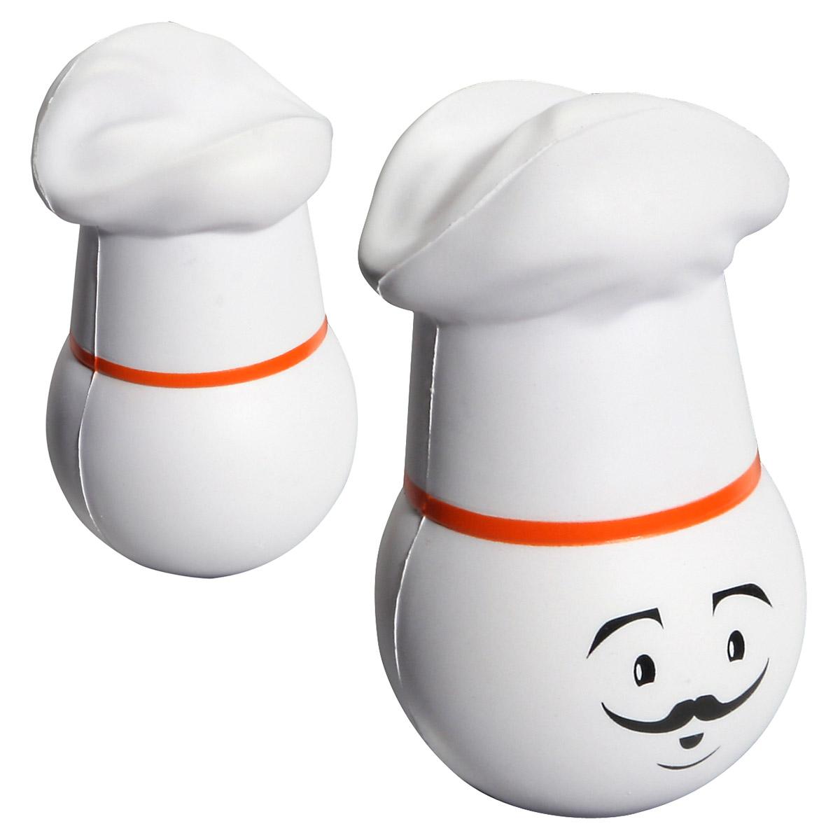 Chef Mad Cap Stress Reliever, LMA-CH09 - 1 Colour Imprint