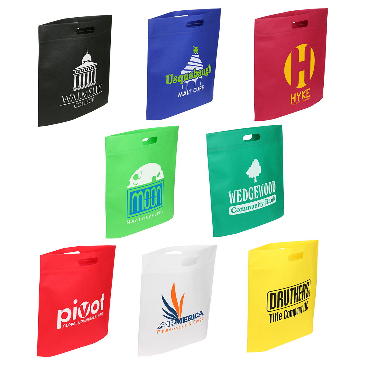Echo Large Tote Bag, WBA-EL11, 1 Colour Imprint