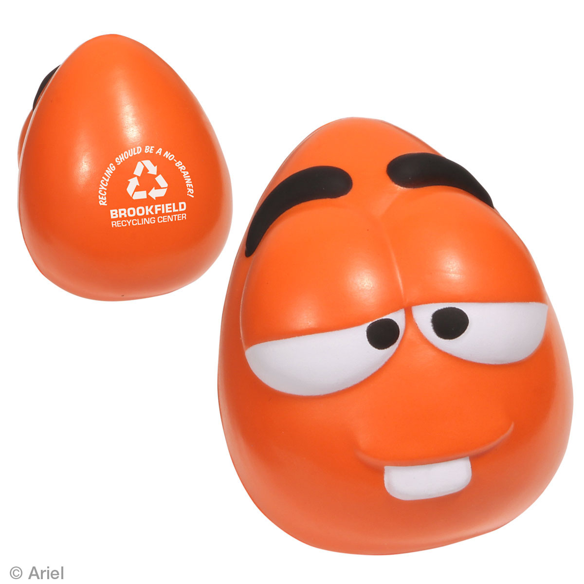 Mini Mood Maniac Stress Reliever-Wacky, LGS-WA13, 1 Colour Imprint