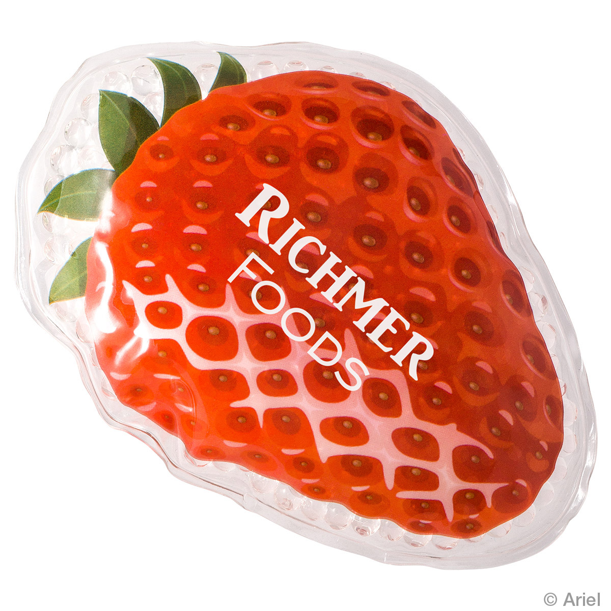 Strawberry Art Hot/Cold Pack, WHF-SA17, 1 Colour Imprint