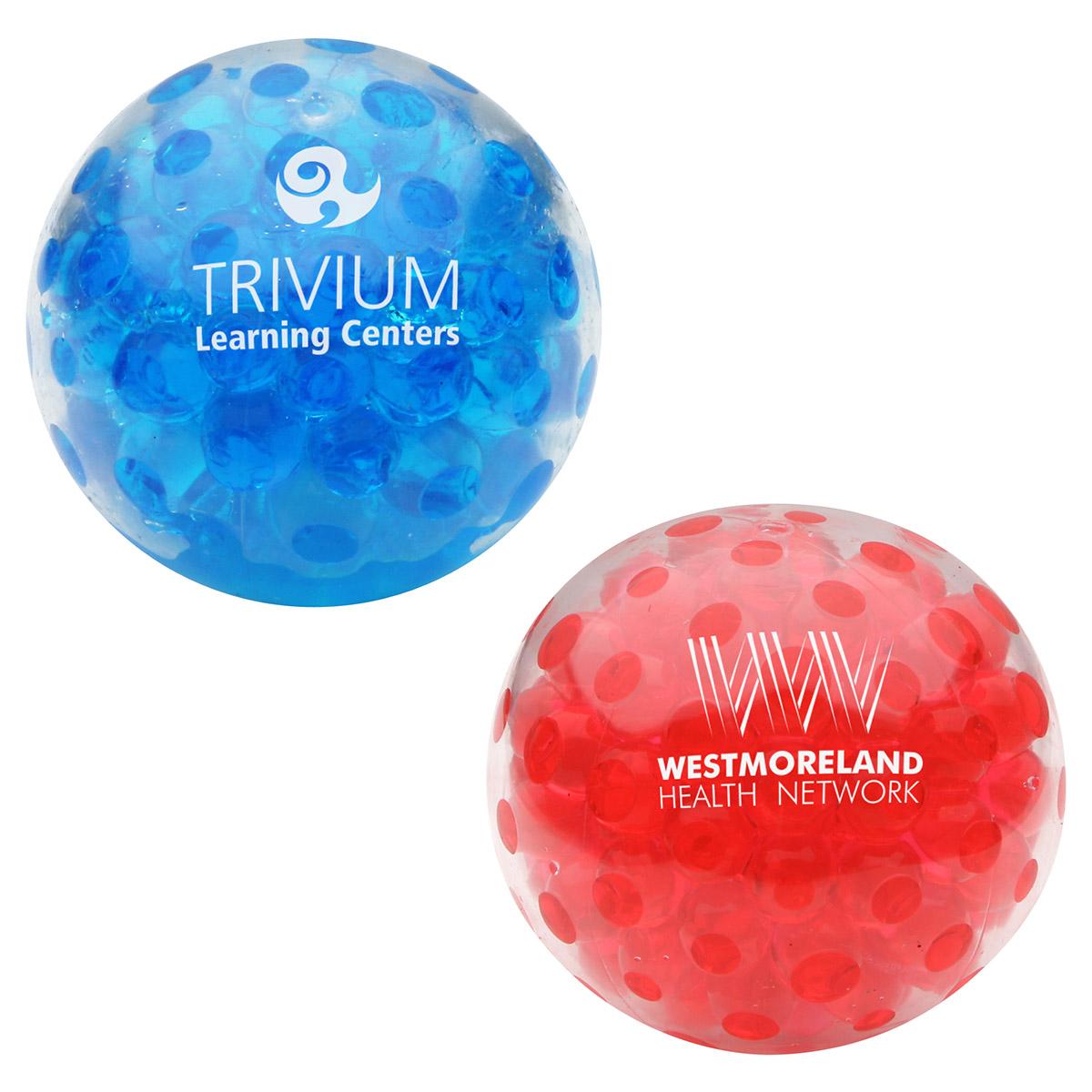 Bead Squeeze Gel Ball, LGB-BS12 - 1 Colour Imprint